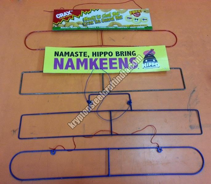 Metal Wire Snacks Pouch Hangers