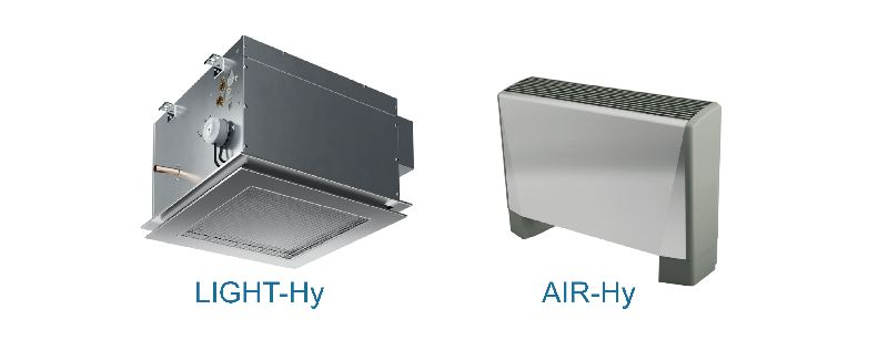 Hygienic fan coil units