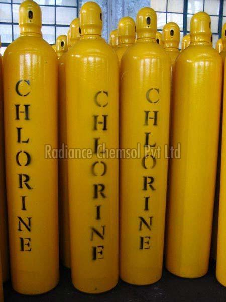 Chlorine Gas Cylinder 02