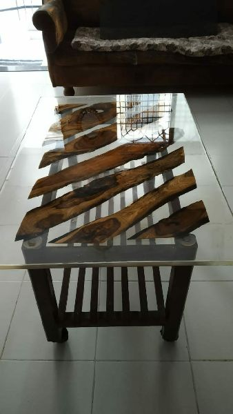 Epoxy Resin Crystal clear table top