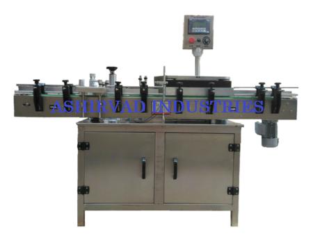 Automatic Servo Based Sticker Labeling Machine