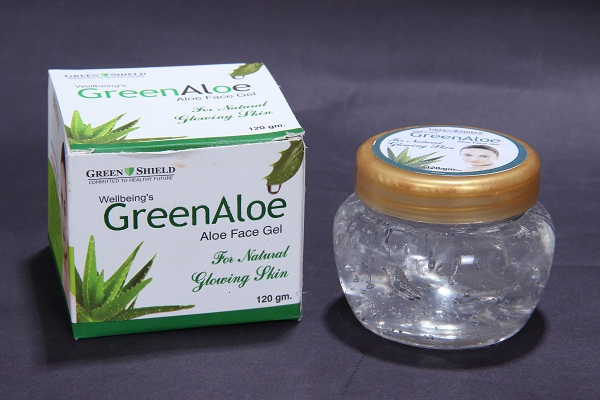 Green Aloe Face Gel