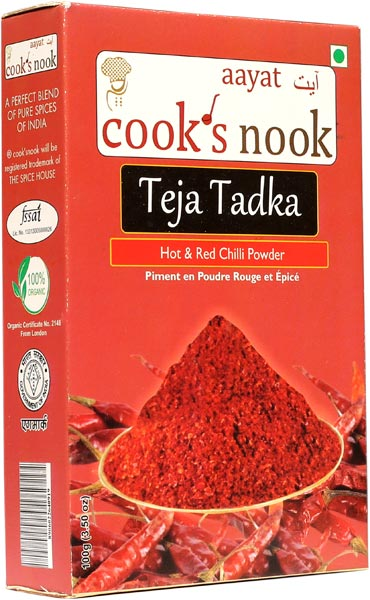 Aayat Teja Tadka Red Chilli Powder 02