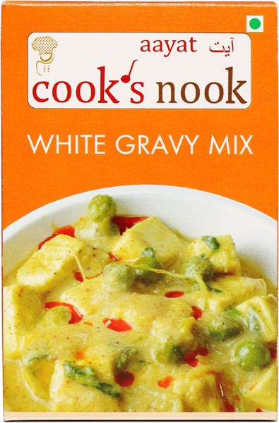 Aayat White Gravy Mix Powder 01