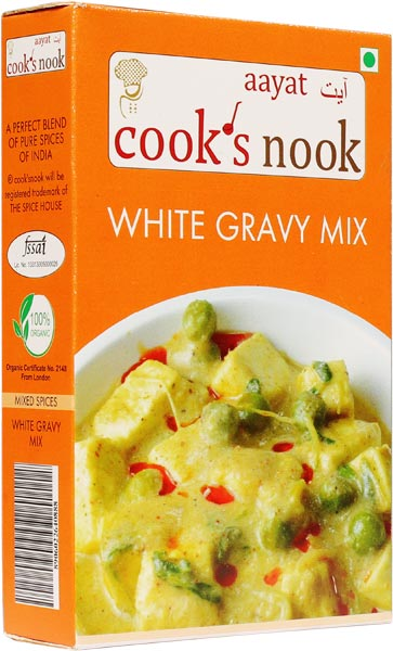 Aayat White Gravy Mix Powder 02