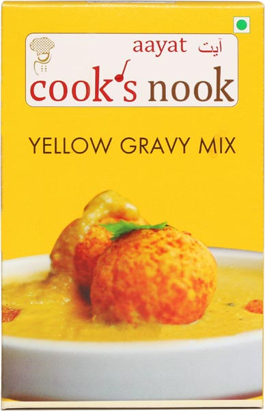 Aayat Yellow Gravy Mix Powder 01