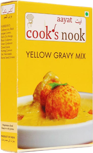 Aayat Yellow Gravy Mix Powder 02