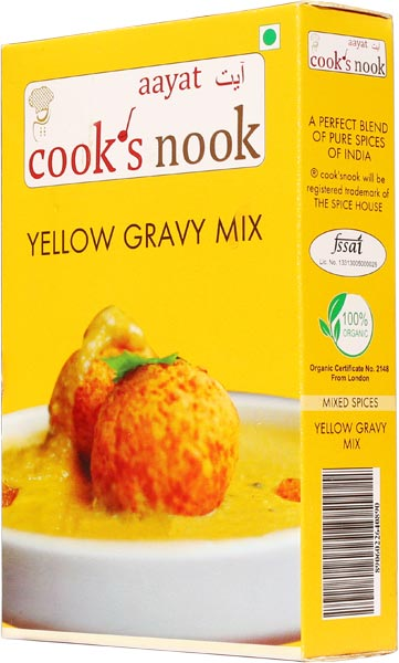 Aayat Yellow Gravy Mix Powder 03