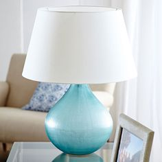 Crystal Glass Table Lamp 01