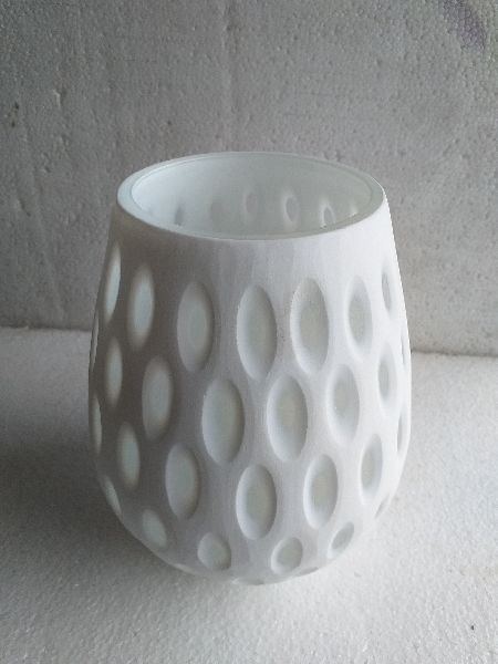 Double Layered Glass Candle Votive Holder 04