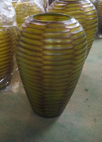 Double Layered Glass Vase 01
