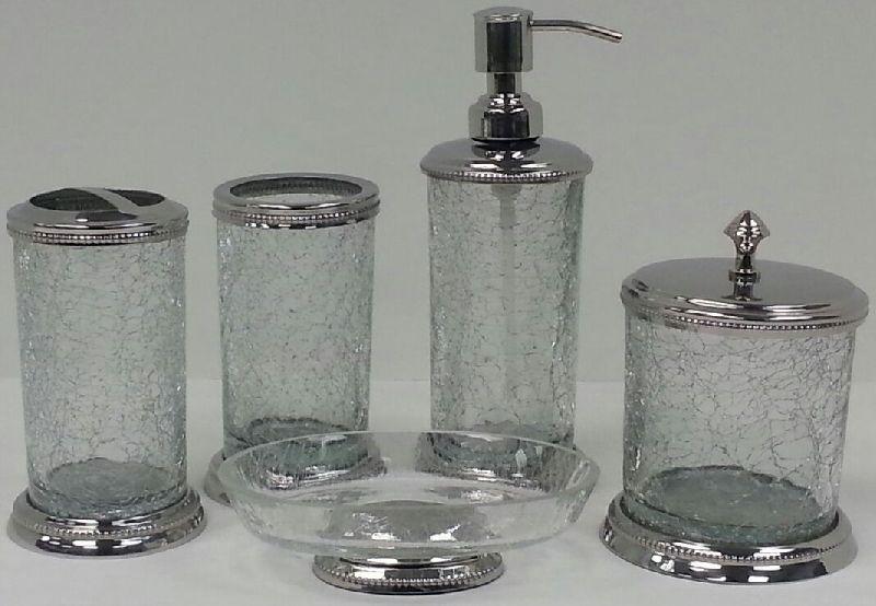 Glass Bathroom Set 05