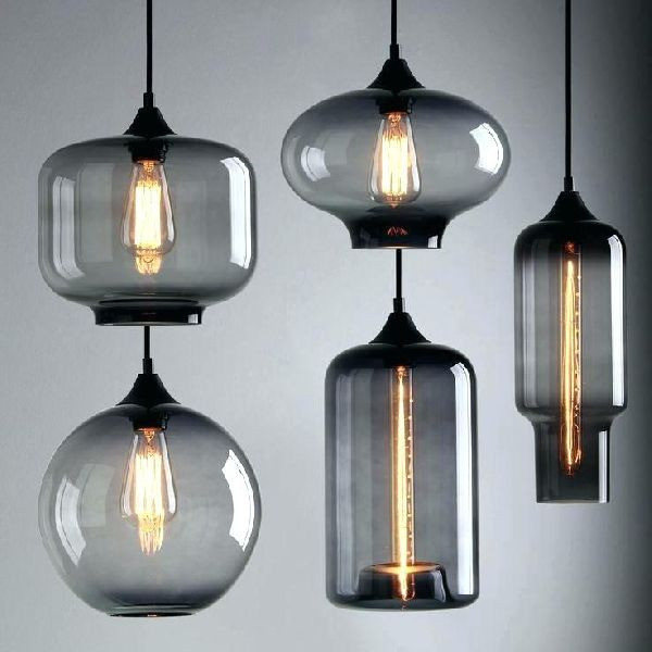 Glass Pendant Lights 01