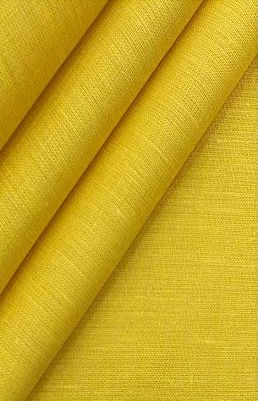 Ns Fabric Yellow Linen Fabric