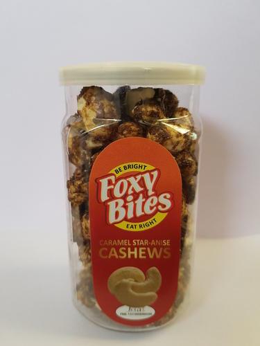 Roasted Caramel Star Anise Cashews Nuts