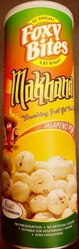 Roasted Jalapeno Pops Fox Nuts
