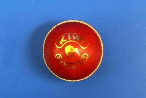 BDM Kiwi Cricket Leather Ball