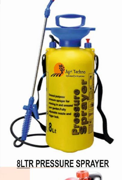 8 Ltr Pressure Sprayer