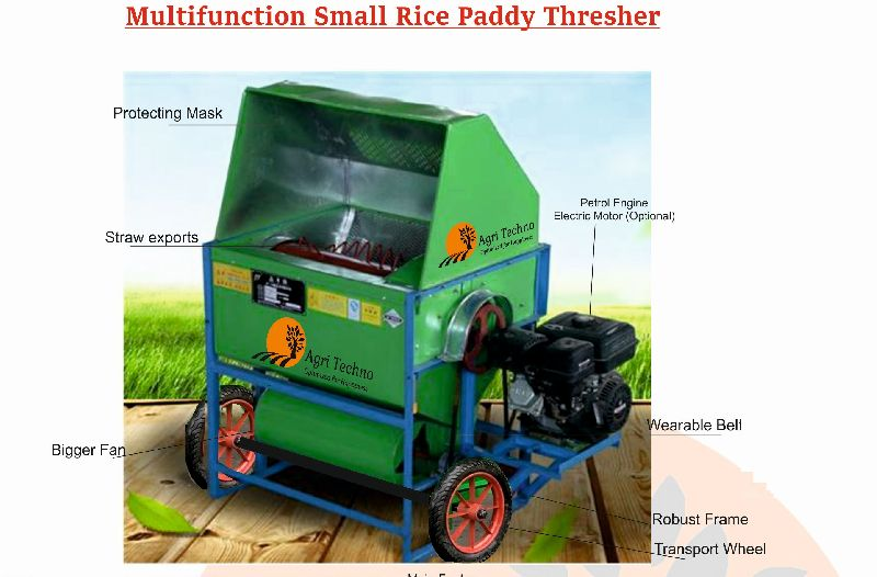 Multifunctional Paddy Thresher 04
