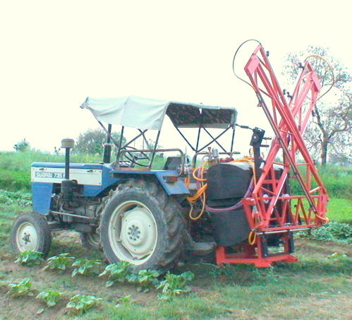 Tractor Mounted Boom Sprayer