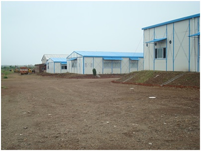 Pre Fabricated Tubular Steel Building 02