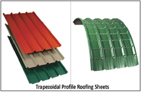 Trapezoidal Profile Roofing Sheets 01