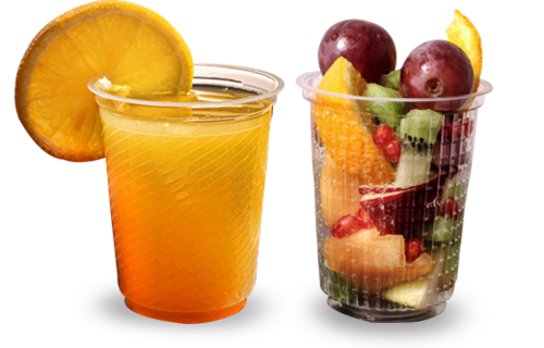 Disposable Plastic Cold Drink Glasses