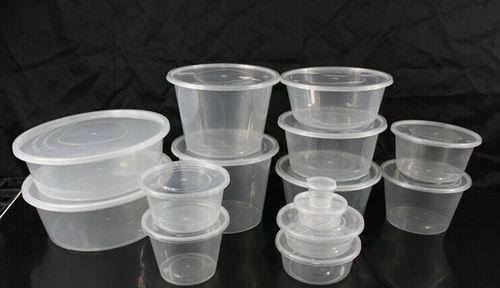 Plastic Transparent Containers