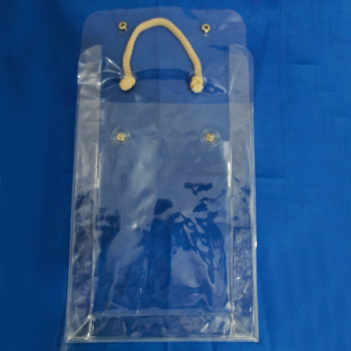 PVC Towel Button Bag
