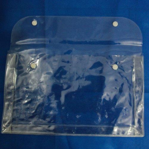 Soft PVC Button Bag