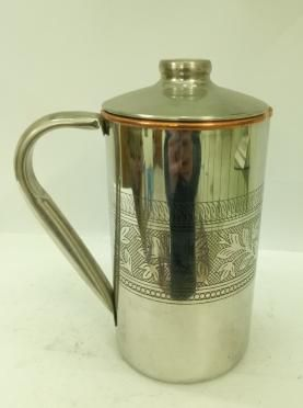 Copper Steel Water Jug 01