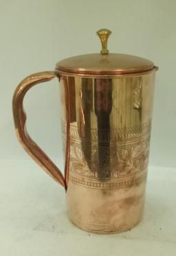 Copper Water Jug  01