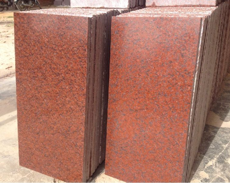 Jhansi Red Granite Slabs 01