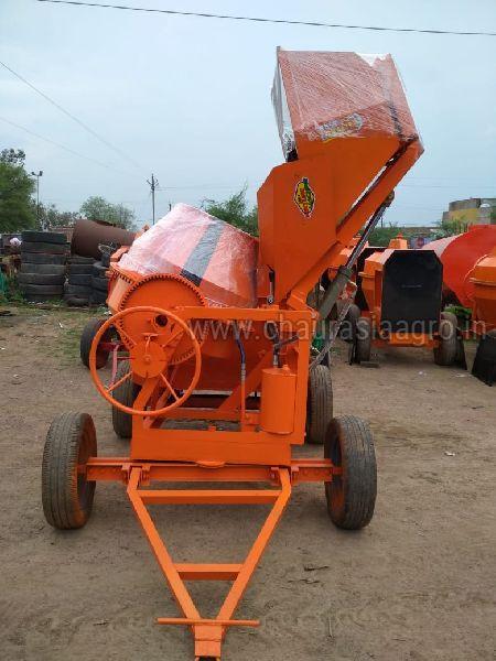 Hydraulic Concrete Mixer Machine 01