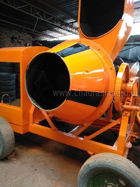 Hydraulic Concrete Mixer Machine 02
