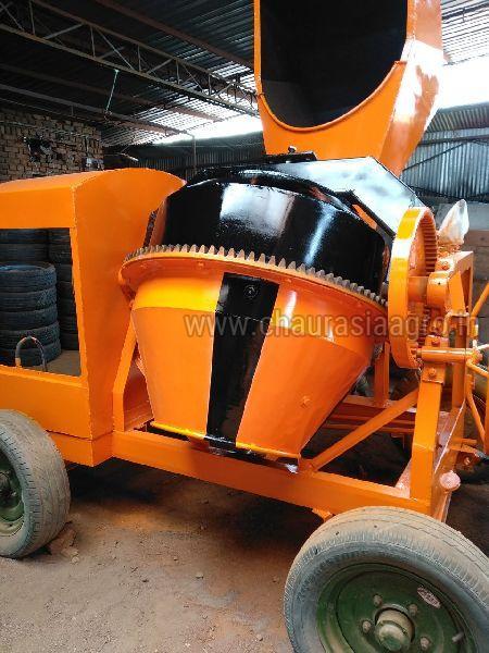 Hydraulic Concrete Mixer Machine 06