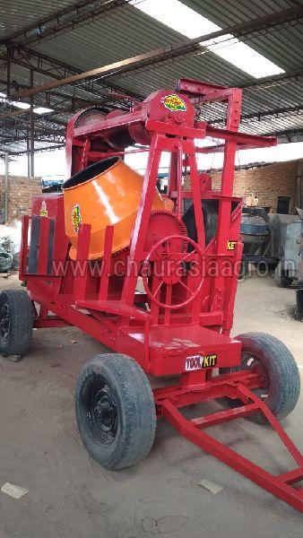 Lift Type Concrete Mixer Machine 02
