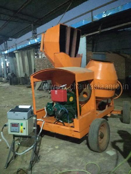 Mechanical Concrete Mixer Machine 02