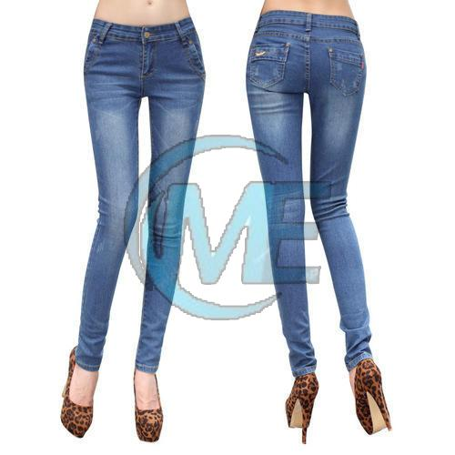 Ladies Narrow Bottom Jeans