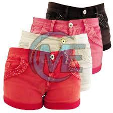 Ladies Plain Hot Pant