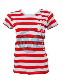Ladies Striped T-Shirt
