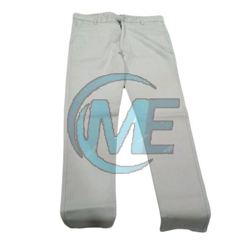 Mens Lycra Cotton Trouser