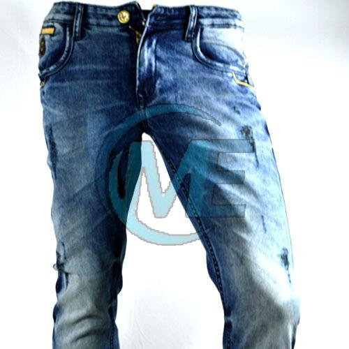 Mens Over Dyed Jeans