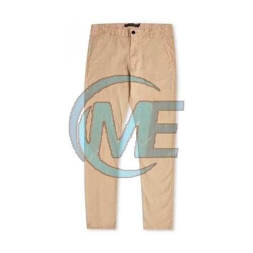 Mens Plain Cotton Trouser