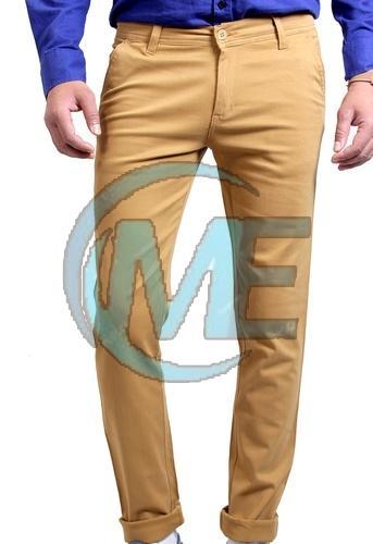 Mens Stretchable Cotton Trouser