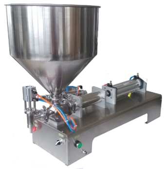 Pneumatic Single Head Paste Filling Machine