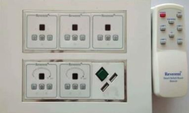 RSSB12M (CP)-Remote Operated 12 Modular Smart Switch Board