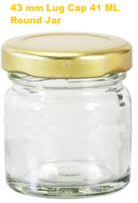 41ml Lug Glass Jar