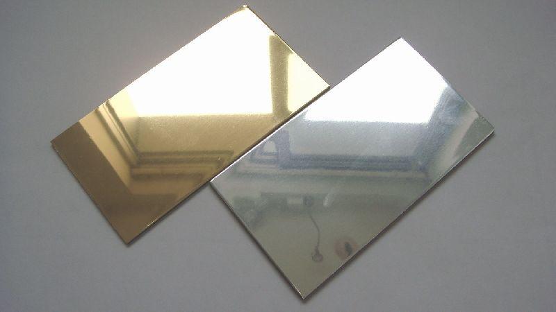 Aluminium and Silver Coated Glass