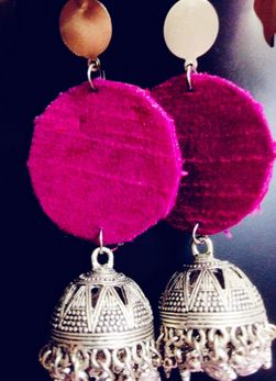 Handmade Jhumka Earrings 01